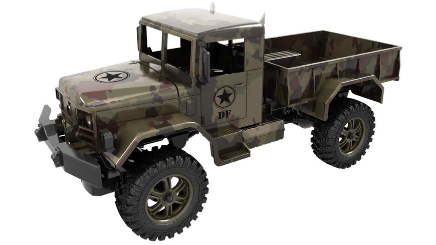 drive fly M1 Military Truck 100 RTR