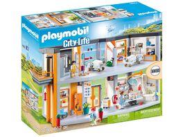 PLAYMOBIL 70190 City Life Grosses Krankenhaus mit Einrichtung