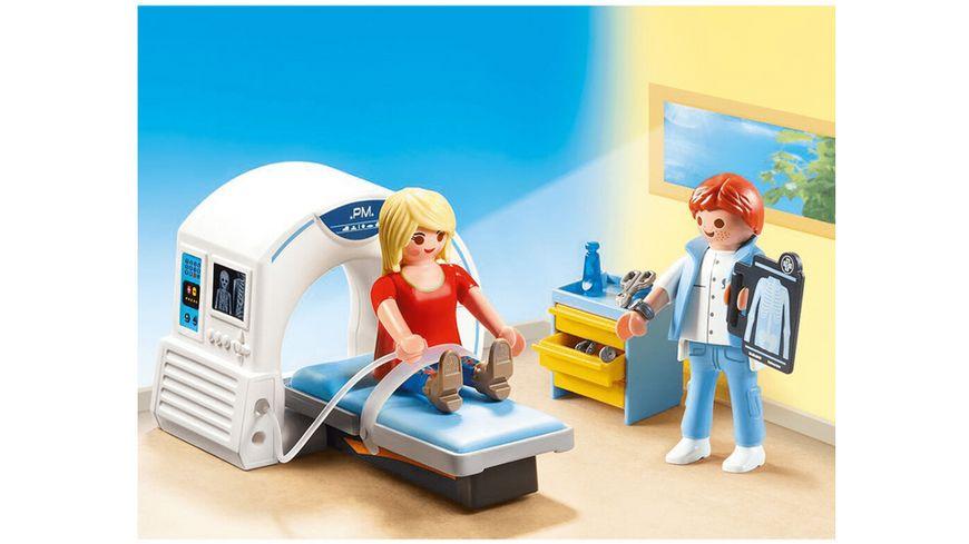 PLAYMOBIL 70196 City Life Beim Facharzt Radiologe