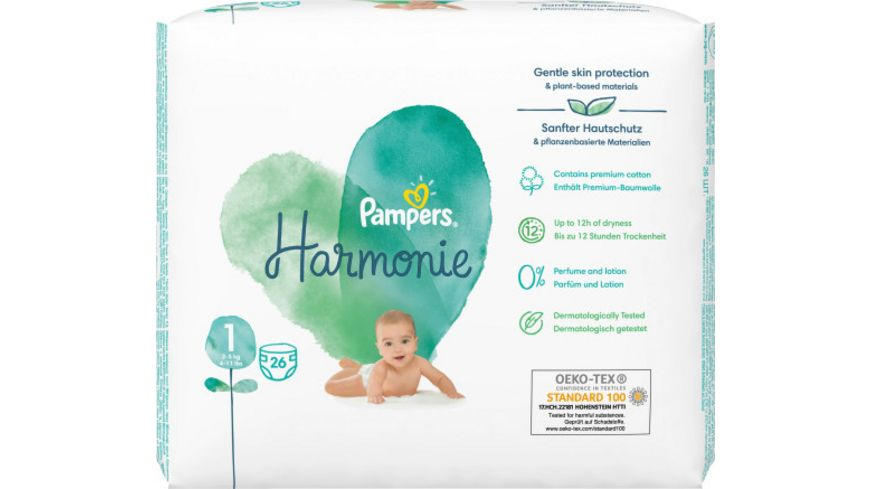 Pampers Pure Protection Groesse 1 2 5 kg