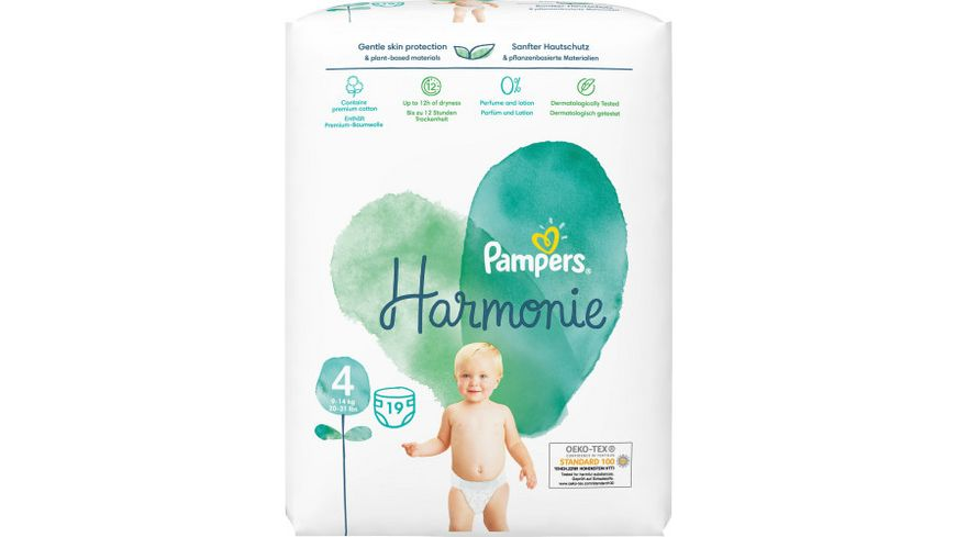 Pampers Pure Protection Groesse 4 9 14kg