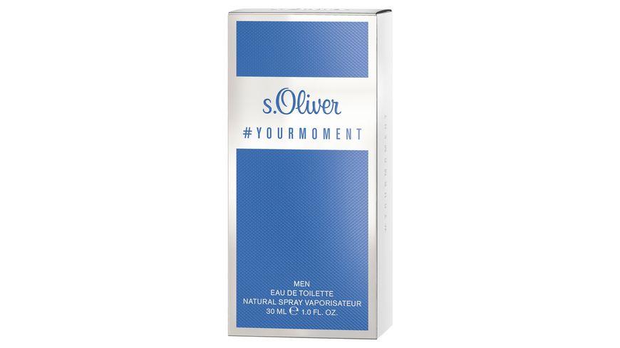 s Oliver YOURMOMENT Men Eau de Toilette