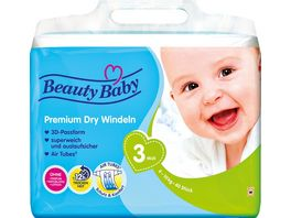 Beauty Baby Premium Dry Windeln Groesse 3 Midi 6 10 kg