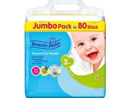 Beauty Baby Premium Dry Windeln Groesse 3 Midi JUMBO 6 10 kg