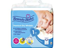 Beauty Baby Premium Dry Windeln Groesse 1 Newborn 2 5 kg