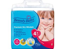 Beauty Baby Premium Dry Windeln Groesse 4 Maxi 10 15 kg