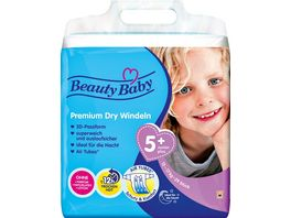 Beauty Baby Premium Dry Windeln Groesse 5 Junior 12 17 kg