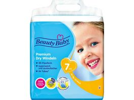 Beauty Baby Premium Dry Windeln Groesse 7 XXL 15 kg