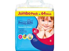 Beauty Baby Premium Dry Windeln Groesse 4 Maxi JUMBO 10 15 kg
