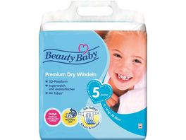 Beauty Baby Premium Dry Windeln Groesse 5 Junior 11 16 kg