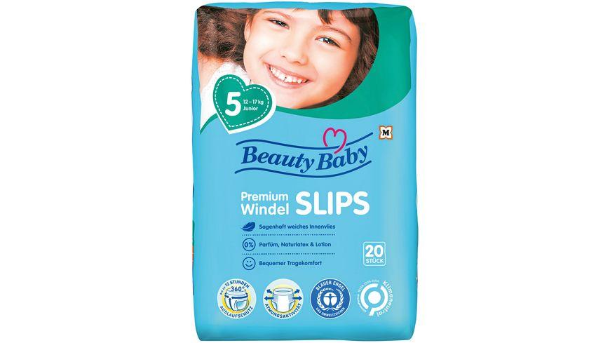 Beauty Baby Premium Windelslips Groesse 5 Junior 12 17 kg