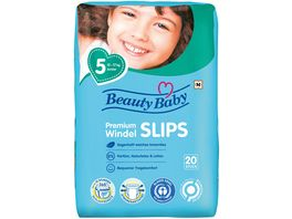 Beauty Baby Premium Windel Slips Groesse 5 Junior 12 20 kg