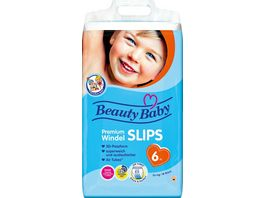 Beauty Baby Premium Windelslips Groesse 6 XL 15 kg