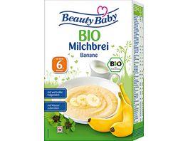 Beauty Baby BIO Milchbrei Banane