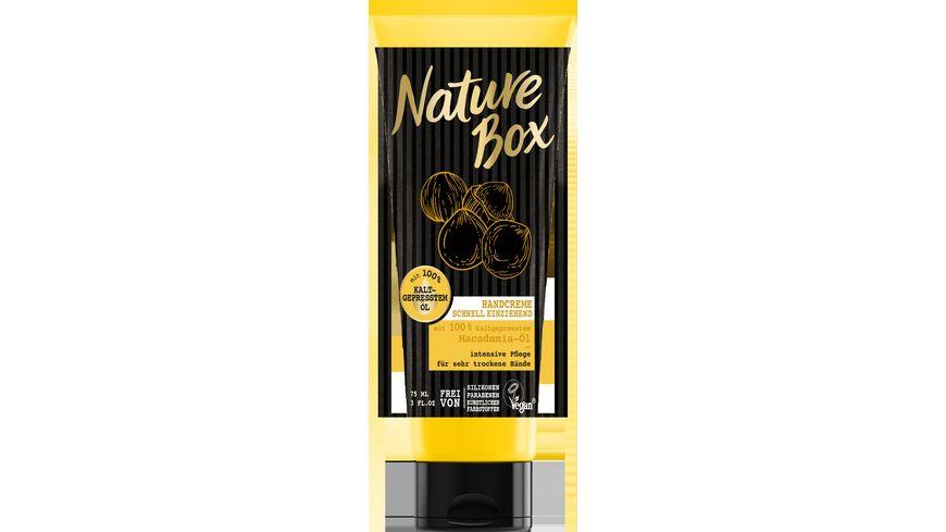 Nature Box Handcreme Macadamia