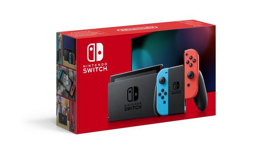Nintendo Switch - Konsole Neon-Rot / Neon-Blau