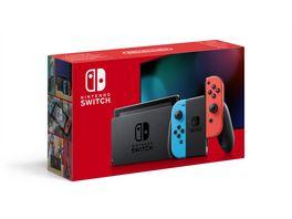 Nintendo Switch Konsole Neon Rot Neon Blau