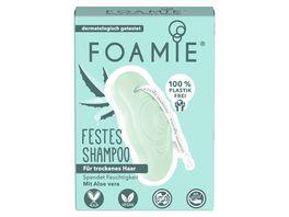 FOAMIE Festes Shampoo Aloe You Vera Much fuer trockenes Haar