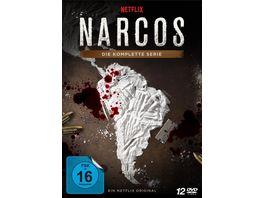 NARCOS Die komplette Serie Staffel 1 3 12 DVDs