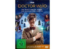 Doctor Who Die Matt Smith Jahre Der komplette 11 Doktor LTD 21 DVDs