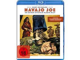Navajo Joe An seinen Stiefeln klebte Blut
