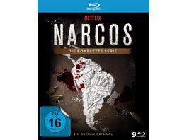 NARCOS Die komplette Serie Staffel 1 3 9 BRs