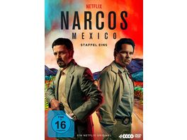 NARCOS MEXICO Staffel 1 4 DVDs