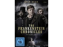 The Frankenstein Chronicles Die komplette Serie 4 DVDs