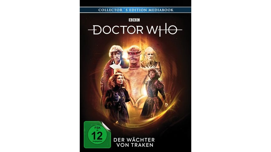 Doctor Who Vierter Doktor Der Waechter von Traken LTD ltd Mediabook 3 BRs