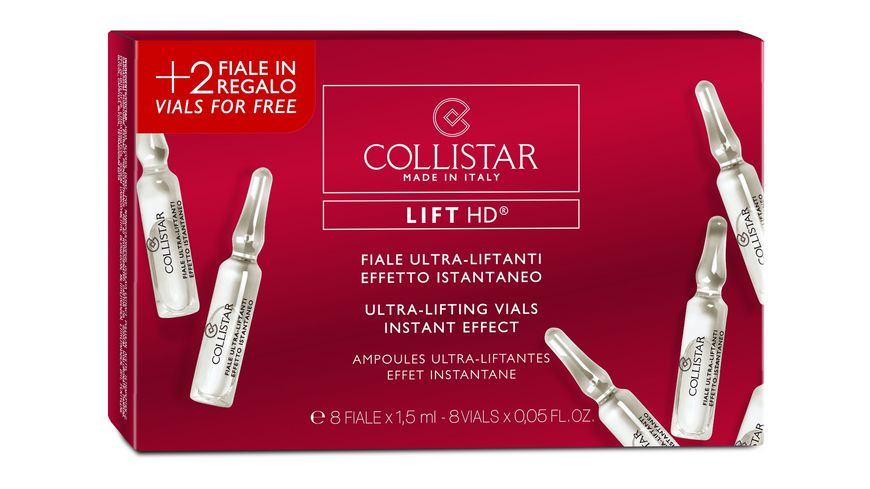 COLLISTAR Ultra Lifting Vials Instant Effect 2 Vials for Free