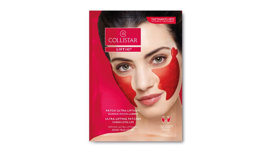 COLLISTAR Ultra Lifting Patches Cheeks Eyes Lips