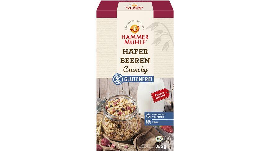 HAMMERMUeHLE Bio Hafer Beeren Crunchy