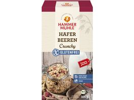 HAMMERMUeHLE Bio Hafer Beeren Crunchy glutenfrei
