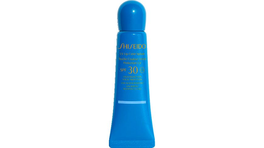 SHISEIDO Sun Care UV Lip Color Splash Tahiti Blue SPF30