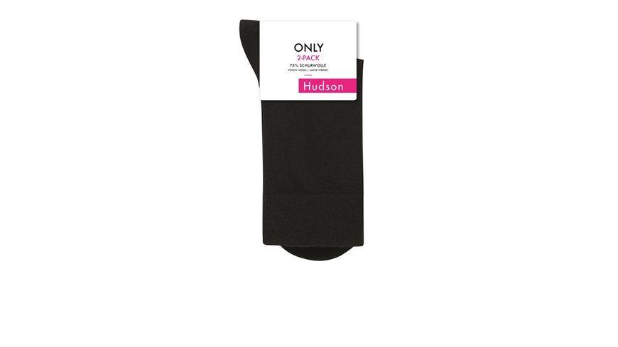 Hudson Damen Socken aus Schurwolle ONLY 2er Pack