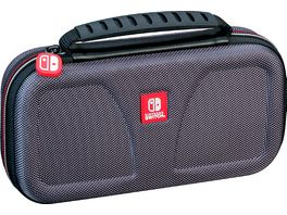 Switch Lite Travel Case NLS140 Off Liz grey Transporttasche inkl 1x 4 Spiele Game Boxen 1x 2 Micro SD Card Box