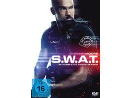 S W A T 2017 Die komplette zweite Season 6 DVDs