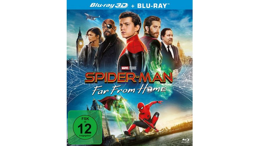 Spider Man Far from Home 3D Version 2 Disc