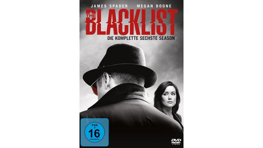 The Blacklist Die komplette sechste Season 6 DVDs