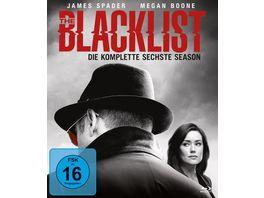 The Blacklist Die komplette sechste Season 6 BRs