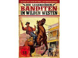 Die legendaeren Banditen im Wilden Westen 6 DVDs