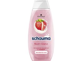 schauma Shampoo Premium Natur Momente Erdbeer Banane Chia Samen