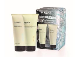 AHAVA Set Dermud Body Cream Mineral Shower Gel