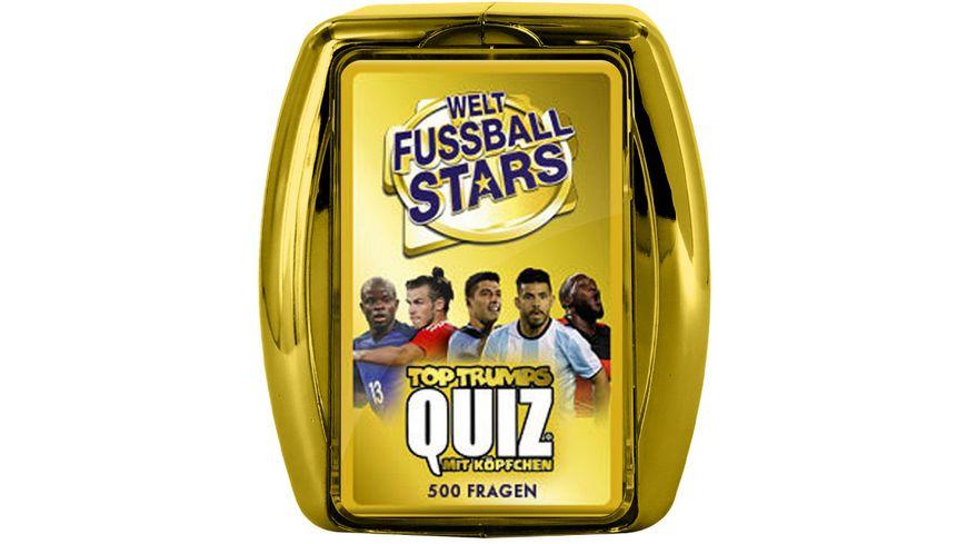 Winning Moves Top Trumps Quiz Weltfussball Stars
