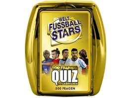 Winning Moves Top Trumps Quiz Weltfussball Stars