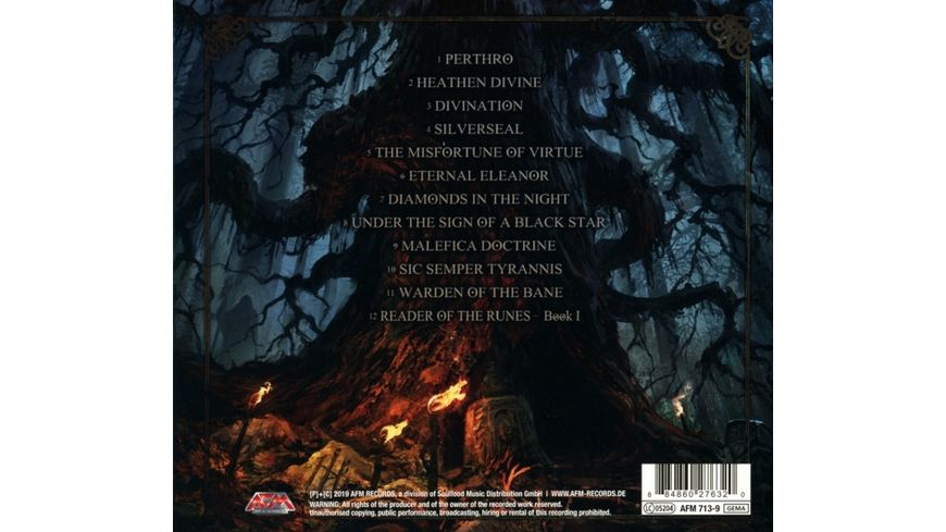 Reader Of The Runes Divination CD Digipak