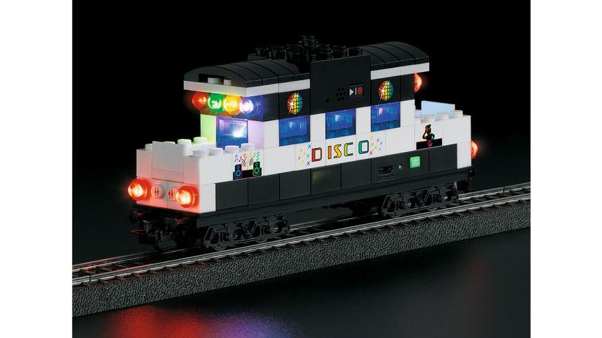 Maerklin 44738 Start up Bausteinwagen mit Sound und Lichtbausteinen