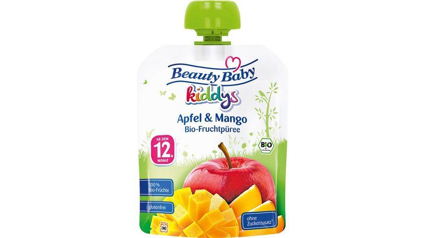 Beauty Baby Quetschie kiddys Bio- Apfel & Mango