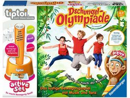 Ravensburger tiptoi active Set Dschungel Olympiade