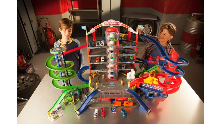 Majorette Spielset Super City Garage